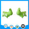 Exercise pvc inflatable jumping horse with logo printing