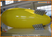 outdoor PVC advertising inflatable airship, inflatable helium blimp