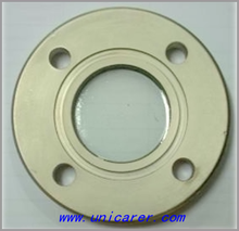 High quality sanitary stainless steel flange sight glass with four holes