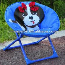 Cartoon kids egg chair, kids moon round chair, kids folding moon chair