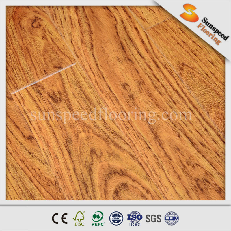 Quick Click Ac3 Best Pressed V Groove Black Oak Wood Laminate ...