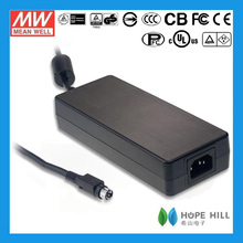 Meanwell GS160A20-R7B 20V 8A 160W AC to DC Single Output Desktop AC/DC Adapters
