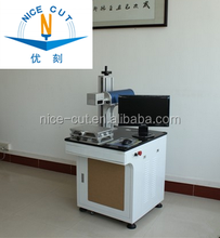 high precision for metal marking NC-FM1010 mini fiber laser marking machine