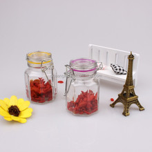 Mini Glass Storage Jam, Spice, Honey Jar With Clip Lid