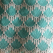 2015 new fashion design High quality Africa water soluble lace fabric Chemical lace embroidery fabricG014