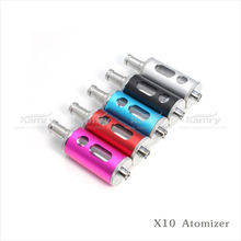 The same factory as glass Dome v8 atomizer abs material X10 atomizer colorful color for choice