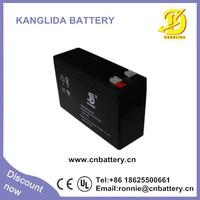 12v 7ah high performance sealed maintenance free UPS battery,12v deep cycle SLA ups battery