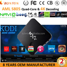 MXV Android TV Box s805 Quad core 1gb ram 8gb rom mxq tv box android KODI 14.2 Media Center with top addons