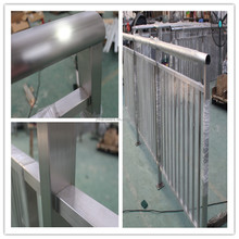stainless steel oval tube railing system