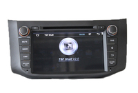 In-dash capacitive Touch Screen Car dvd for Bluebird Sylphy with GPS Navigation