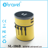 Otravel creative travel adapter kit usb output charging port multi charger plug for iphone ipad