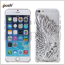 new silvery angel slim pc case for iphone6