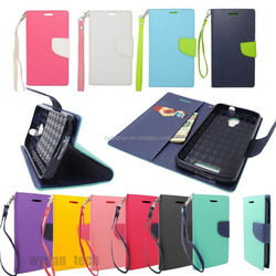 2016 fashion mix color leather flip cover for ipad 2 3 4 tablet phone case