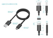 NEW arrival super fast type-c to usb 2.0 cable ,new type-C products for mackbook