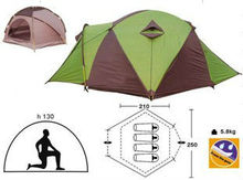 4 person Camping Tent Family Recreation Tents