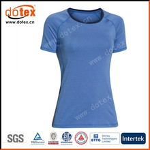 2015 wicking dry rapidly ladies sublimation stripe print t shirt