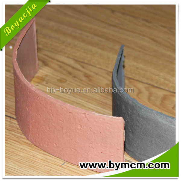 China building materials outdoor flexible flooring tile for Flexible roofing material