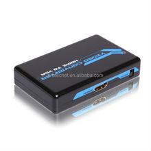 2015 Plastic Case HDMI/DVI to VGA Converter with audio HDMI to VGA Converter
