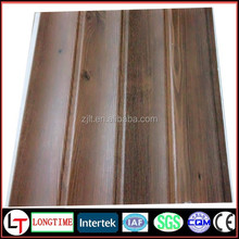 Newest 25cm middle groove Decorative PVC ceiling cladding wall panel for bathroom