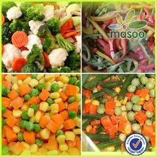 China IQF mix frozen vegetable,frozen vegetable mixed