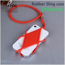 Universal Silicone hang Rope phone case for mobiles , mobile accessories for iphone 6 with lanyard