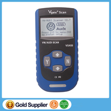 Vgate VS450 Read Clear Trouble Code For AUDI/VW Series MIL Function CAN SCAN TOOL VS450OBD Diagnostic Engine Reset Oil Service