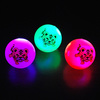 flashiong led bouncing ball with beads and power
