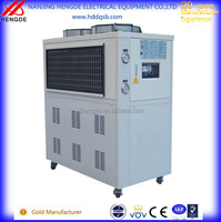 High-efficient air water mini chiller for numerical control machine