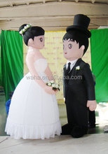 inflatable doll for wedding decoratrion/inflatable wedding decorations