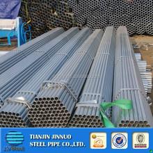 Tianjin galvanized steel tube tubo galvanizado