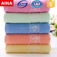 China Top 10 towels' supplier high quality 100% cotton Plain weave color surgical towel