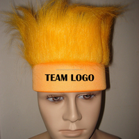 light orange spirit hair with custom logo for sales promotion