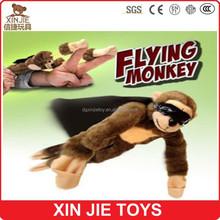 EN71 plush flying monkey toy custom made plush flying monkey toy for kids