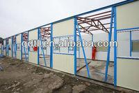 prefabricated sandwich panel makeshift housing