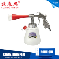 Tornado gun cleaning car for car beauty and car care