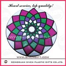 High quality special 2D soft pvc coaster