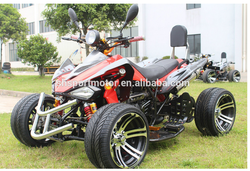 350cc water cooled Zongshen engine electric start ATV Quad EEC for 2seater road legal bike