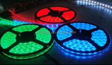 Flexible led strip light 3528smd 120pcs leds per meter waterproof WF2 WW/NW/CW/R/G/B 120PCS/M 5M/ROLL Electrostatic bag packing