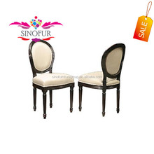 stackable glossy louis ghost chair