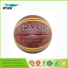 Top quality pu cheap outdoor or indoor basketballs