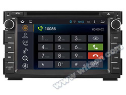 WITSON Android 4.4 AUTO DVD GPS FOR KIA VENGA 2010-2012 8GB Inand CAPACTIVE Screen WiFi 3G GPS