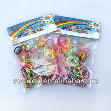 rubber band for DIY make bracelets with rubber bands