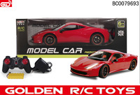 New product 2086-1 1:8 4-CH rc car 1/8 with lights and charger