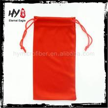 2015 new products mobile phone pouch with drawstring,color drawstring bag,eyeglasses covers