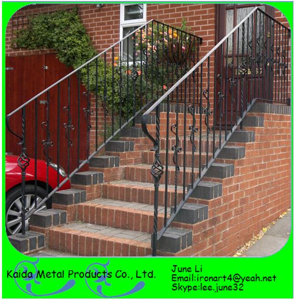 Pasamanos hierro forjado para escaleras simple hierro for Escalera plegable aluminio sodimac