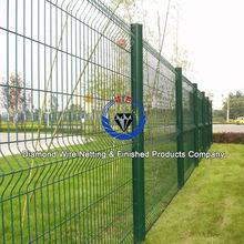 green pvc coated wire mesh fence/best price welded wire mesh fence(Factory direct sale)