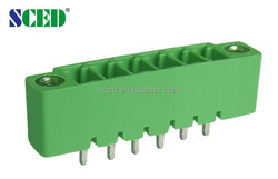 Electronic Terminal Block 3.81mm 8A 300V plug-in pin header terminal block