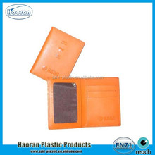Factory Promotional Leather Photo ID Cards Cover Corporate Gift Items