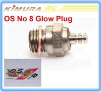 Free shipping 2015 New OS No 8 Medium Glow Plug A8 for OS nitro Engine VS RC glow plug igniter diesel
