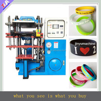 JY-A02 factory silicone/rubber wristband making machine